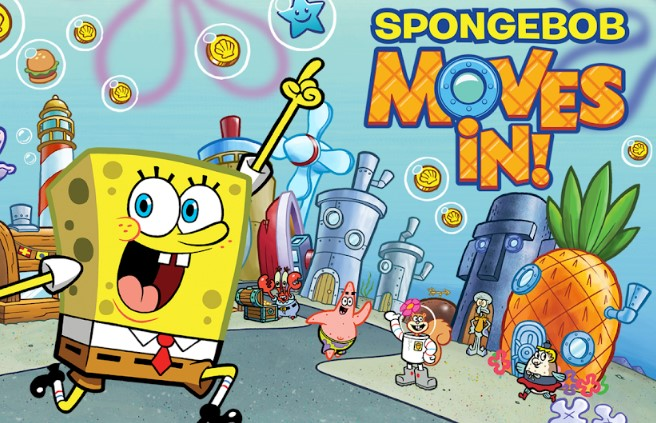 spongebob moves in apk mod unlimited money